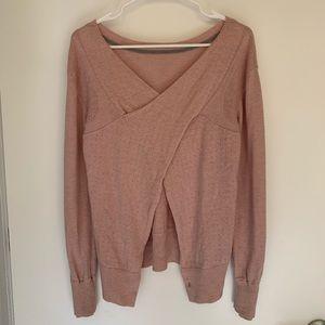 Lululemon Sunset Savasana Sweater Pink Size 6
